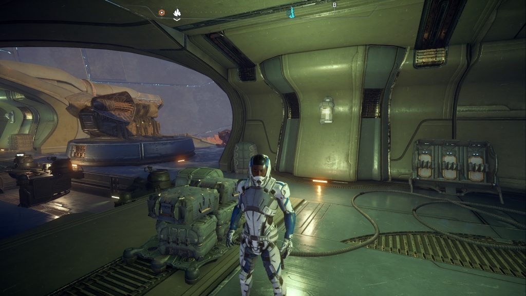Mass Effect Andromeda Ultra perfomance test Game. STR
